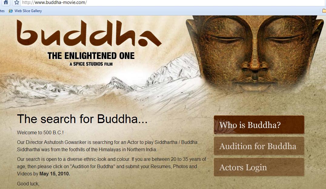 Buddha Movie Website