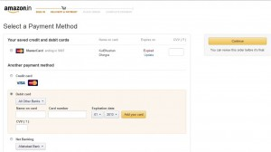 Payment Method Page - Amazon.in