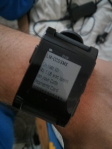 Read SMS on Pebble
